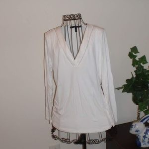 White House Black Market white top